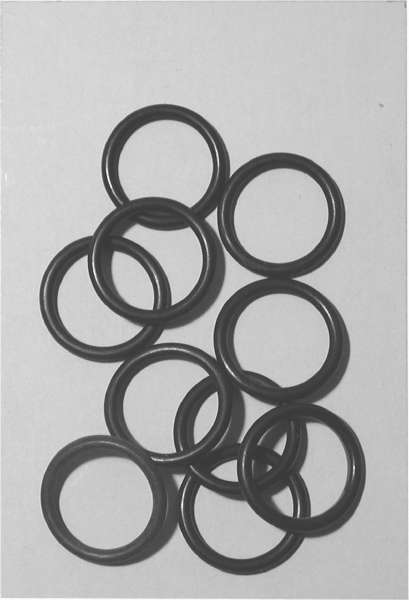 Nitrile/Buna N Replacement O-Rings Packaged in Resealable Bags