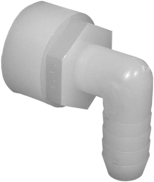 Vacuum Elbow Barb Adapter Female 1/2 FPT X 1/2 Barb