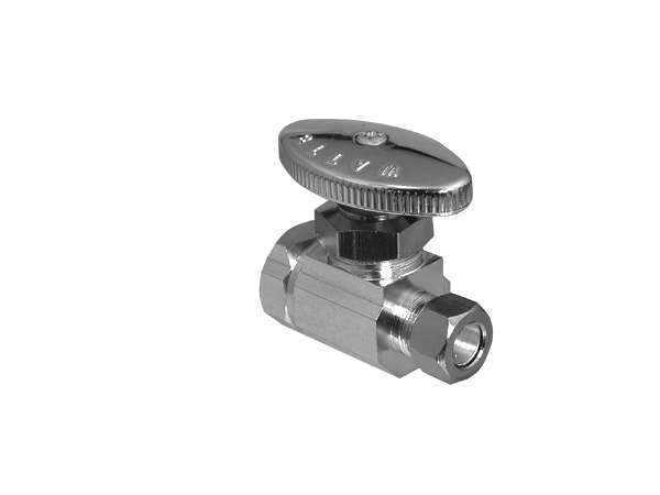 Straight Manual Shut-Off Valve