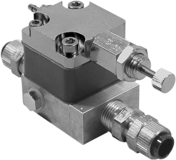 Cuspidor/Cup filler Time Delay Valve Assembly