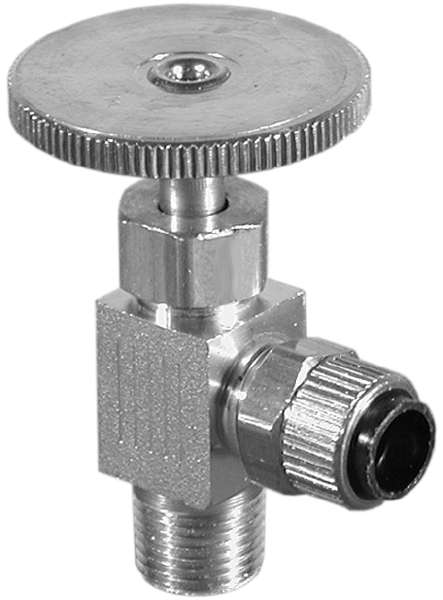 Angle Needle Valve Assembly 1/4 X 18