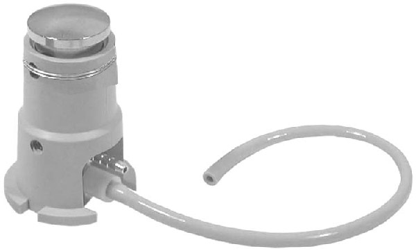 Chip Blower Tower Assembly N/C 2-Way Valve - Gray