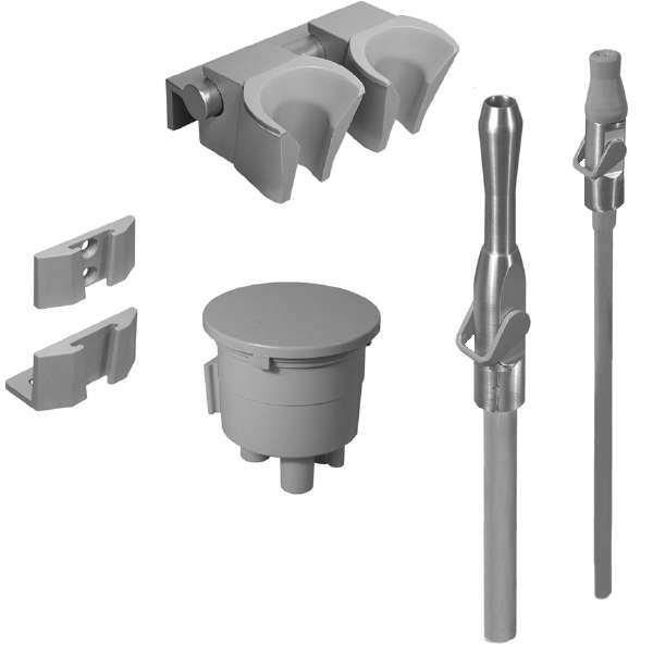 Universal Central Vacuum Autoclavable Lever Valve Kit