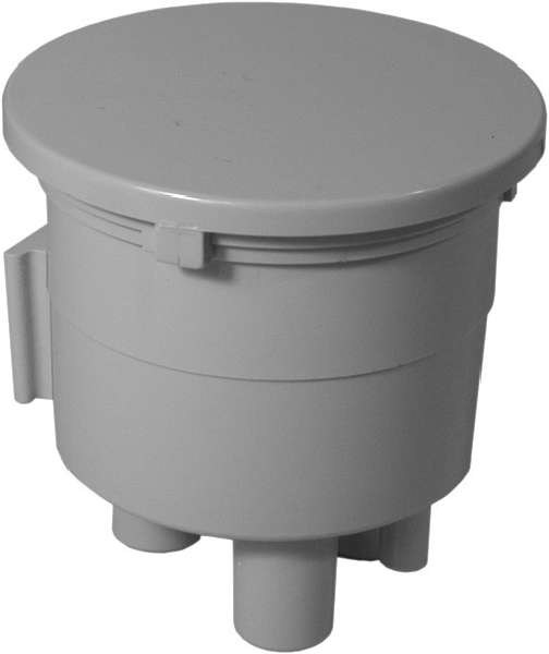 Twist Lock Lid Canister Assembly - Gray
