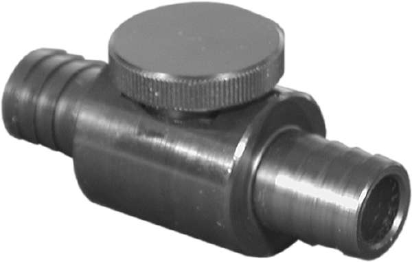 Inline Vacuum On-Off Valve 1/2 Barbs