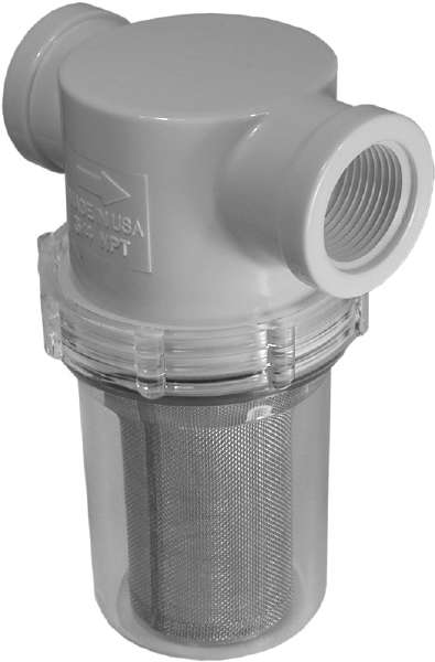 Vacuum Inline Filter Assembly