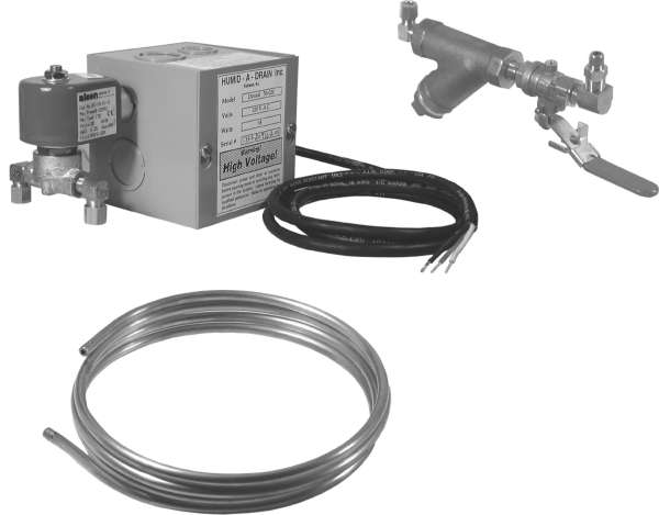 Air Compressor Tank Drain - 120 Volt Model
