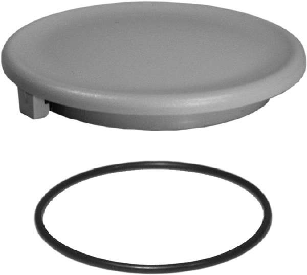 Twist Lock Lid with O-Ring Gray